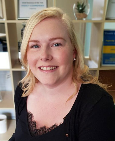 New Office Manager Holly Farrell